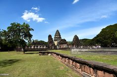 Prasat Hin Phimai is the largest Khmer temple in Thailand today. It is a sanctuary of Mahayana Buddhism. Asia.  #phimai #thai #photo #siam #photograph #www.vincent-jary.fr #getty #gettyimages #photography #city #travel #destination #touristic #khmer #terracota #building