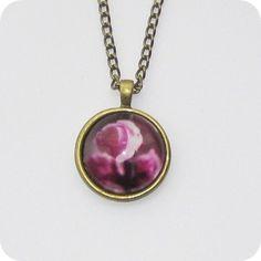 Rose Pendant Necklace, Rose, Jewelry, Fashion, Moda, Pink, Jewlery, Jewerly, Fashion Styles