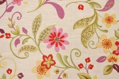 Mill Creek / Raymond Waites Tracey-Sussex Drapery Fabric in Orchid $11.95 per yard