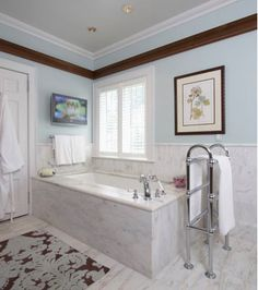 Luxury Modern Kitchen & Bath - Sarah Blank Design Studios Specializes In Kitchen & Bath Design In Greenwich CT, Palm Beach FL, and New York, NY Pelham Manor, Marble Bath, Palm Beach Fl, Kitchen And Bath Design, Interior Design Studio, Luxury Kitchens, Amazing Bathrooms, Master Bath, Home Furnishings
