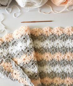 Crochet Petal Stitch Blanket - Daisy Farm Crafts Instagram