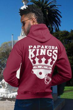Mens Kings Classic Hoodie King Logo, American Football, Comfy, Hoodies, Knitting, Classic, How To Wear, Men, Fashion