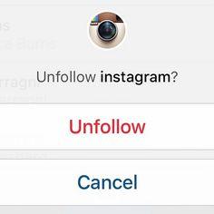 why i unfollowed you on instagram medium