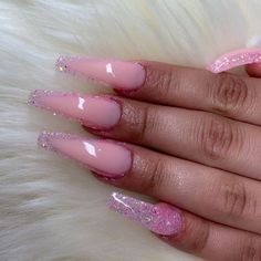 145 cute & stylish summer nails for 2019 page 8 59 Acrylic Nails For Summer Aycrlic Nails, Hot Nails, Swag Nails, Coffin Nails, Pink Coffin, Nail Nail, Nail Tech, Summer Acrylic Nails, Best Acrylic Nails