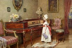 Pianoforte with Keturah or Lydia Lane
