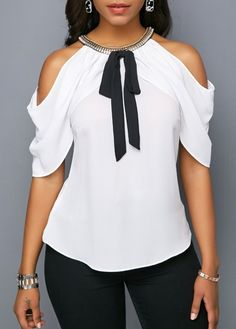 Stylish Tops For Girls, Trendy Tops, Trendy Fashion Tops, Trendy Tops For Women Page 6 Stylish Tops For Girls, Trendy Tops For Women, Blouses For Women, Cold Shoulder Blouse, Blouse Online, Shirts Online, Tops Online, Mode Outfits, Blouse Styles