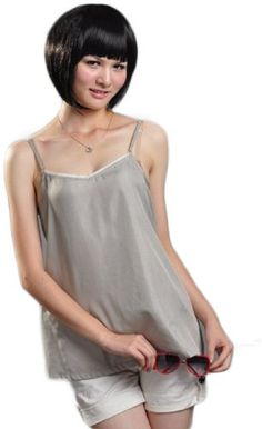 Anti Radiation Shielding Maternity Clothes Top with Pregnant Protection Shielding, One Size, Silver, Dress Code:8900603