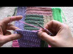 Avanzi di lana - Un consiglio su come utilizzarli. - YouTube