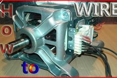 Electrical Projects, Electronics Projects, Washing Machine Motor, Universal Motor, Tool Storage, Wire, Diy Tools, Bricks, Edc