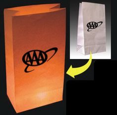 """Light Up Luminaria Bags - White...Nothing gets your logo out there better than a custom Luminaria Bag. With an LED candle hidden inside, your Luminaria bag can catch everyone;s attention and highlight your name at the same time. An ideal centerpiece for corporate parties, this """"enlightened"""" item makes a great giveaway during faires, trade shows and other promotional events. Please be advised that the bags do not light up and the LED candles are sold separately."""