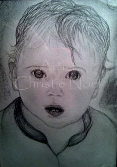 Artist: Christie Noel  Charcoal on Card Stock
