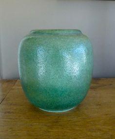 Antique WMF Arts & Crafts Vase - Large German Art Pottery Vase