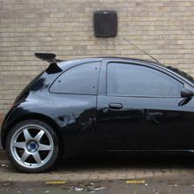 djm ford ka body kit auto pinterest arches body. Black Bedroom Furniture Sets. Home Design Ideas
