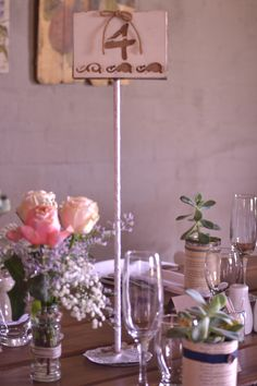 An example of the table placement numbering used at Makojalo Place Cards, Place Card Holders, Construction, Weddings, Table Decorations, Board, Home Decor, Building, Decoration Home
