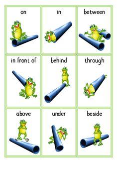 Prepositioner - lägesord
