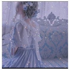 Light Blue Aesthetic, Blue Aesthetic Pastel, Angel Aesthetic, Classy Aesthetic, Aesthetic Colors, Aesthetic Vintage, Aesthetic Girl, Aesthetic Clothes, Fairytale Dress