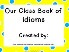 I used this with Unit 1 5th Grade REading Street:  Idioms