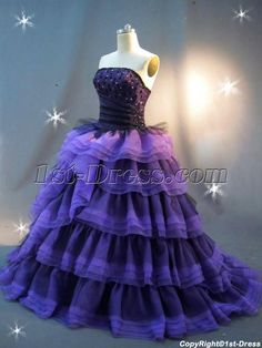 1st-dress.com Offers High Quality Purple and Black Princess Quinceanera Dress IMG_2433,Priced At Only US$210.00 (Free Shipping)