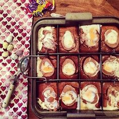 Creme Egg Brownies. | 17 Scrumptious Ways To Eat A Creme Egg