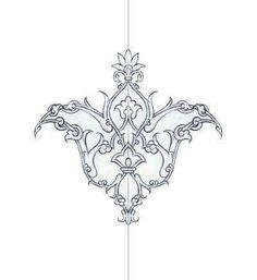Motifs Islamiques, Islamic Motifs, Islamic Art Pattern, Persian Motifs, Pattern Art, Pattern Design, Turkish Pattern, Oriental Pattern, Arabic Calligraphy Art