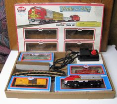 Model Power HO Electric Train Set 1035 Pride of the Line Electric Train Sets, Model Trains, Pinball, Arcade Games, Collectible Toys, Seal, Harbor Seal