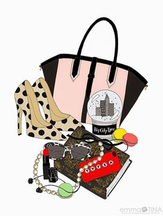 What's in My Bag? #emmakisstina #art #fashion #preppy