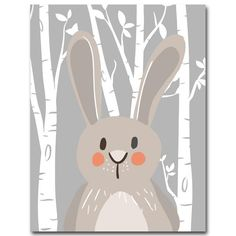 Rabbit Fox Bear Animal Nursery Posters and Prints Wall Art Canvas Painting Decorative Picture Nordic Style Kids Decoration Large Canvas Art, Canvas Art Prints, Canvas Wall Art, Nursery Canvas, Nursery Paintings, Canvas Poster, Poster S, Poster Wall, Nursery Pictures