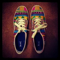 Custom Keds Or VANS Tribal Canvas Shoes - Womens Custom Shoes Size 5 6 7 8 9 10 11 - Handpainted Tribal Shoes - Aztec Shoes on Etsy, $68.00