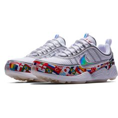 save off 854c8 2cb6f Nike Air Zoom Spiridon 16 NIC QS WhiteMulti-Color-4