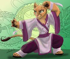 Kung Fu Kotty by Moolallingtons.deviantart.com on @DeviantArt