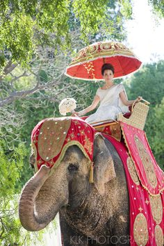 Bride entry on elephant - http://www.klkphotographyblog.com/2011/09/sri-lankan-wedding-san-marino-ca-sneak-peek/