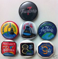 mercury nasa logos buttons - photo #19