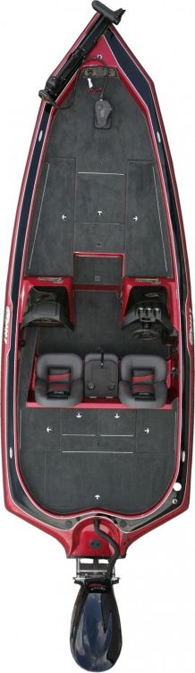 New 2012 Blazer Boats 210 Pro-V Bass Boat - Bird's Eye View.