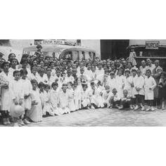 GRUPO DE ESCOLARES DE MURCIA CON SUS MAESTROS:08/1935 Descarga y compra fotografías históricas en | abcfoto.abc.es