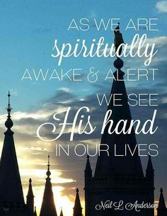 His hand in our lives