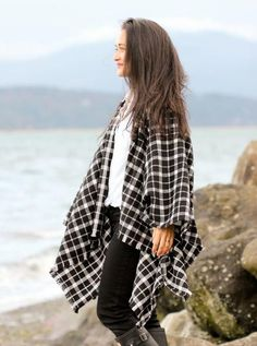 Winter Layers Cape Scarf Tutorial