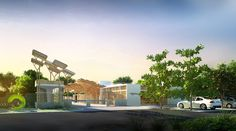 The gateway into, what could be, your new uber luxurious eco-home..