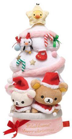 Rilakkuma plush Christmas tree