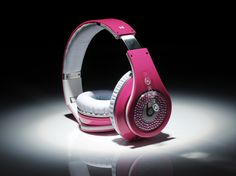 Monster Beats Pink Diamond rose red by dr.dre