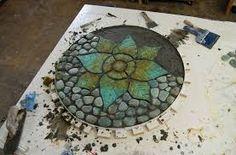 mosaic flower design