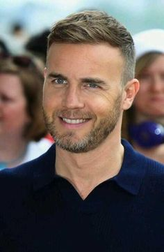 Gary Barlow....always comes across as being a really nice guy...very genuine...good songwriter too!