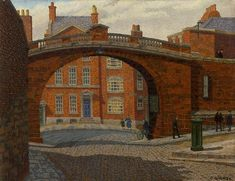 View Watergate, Chester by Charles Ginner on artnet. Browse upcoming and past auction lots by Charles Ginner. French Impressionist Painters, Impressionist Artists, Landscape Art, Landscape Paintings, Camden Town, Camden Group, Bridge Painting, Post Impressionism, Global Art