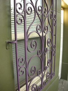 Painted Security Bars