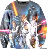 Nothin better than a Star Wars sweater