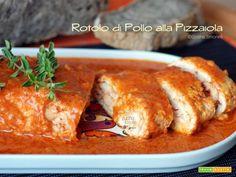 Rotolo di pollo alla pizzaiola, facile e buono  #ricette #food #recipes