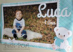 Banner 1 Ano do Luca PetitPOA Lembrancinhas & Eventos Personalizados www.petitpoaeventos.blogspot.com