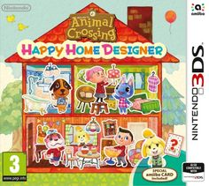 Animal Crossing: Happy Home Designer. Includes one game and one amiibo card. All of your favorite Animal Crossing villagers are looking for new homes, and you?re the designer! Use your creativity to d Animal Crossing Characters, Animal Crossing Villagers, Animal Crossing Game, Playstation, Xbox, Donkey Kong Country Returns, Jeux Nintendo 3ds, Nintendo Amiibo, Nintendo Games