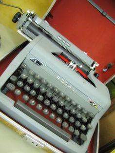 Pretty vintage Mad Men era Royal typewriter at Woodstock Antiques