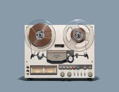 Reel-to-Reel Tape Recorder Spin Cycle