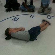 Techie Teacher Time: Telling Time Can Be Fun! Math Classroom, Kindergarten Math, Classroom Activities, Time Activities, Outdoor Activities, Cool Math For Kids, Fun Math, Teaching Time, Teaching Math